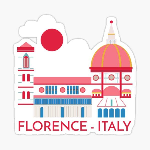 Florence Italy Firenze Italia Sticker
