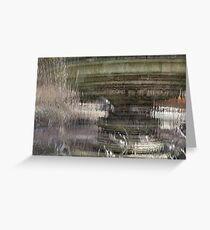 Through the Water Curtain - a Silky Veil Added Dimension - Take Two Greeting Card