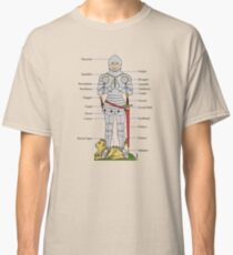 Plate Armour Circa 1430 Classic T-Shirt