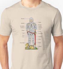Plate Armour Circa 1430 Unisex T-Shirt