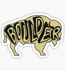 University of Colorado Boulder Buffalo Sticker