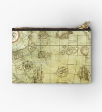 Sea Monsters Map Studio Pouch