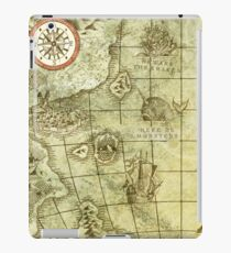 Sea Monsters Map iPad Case/Skin