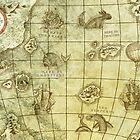 Sea Monsters Map by djrbennett