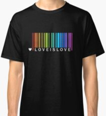 Love is Love - LGBT Pride t-shirt Classic T-Shirt
