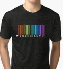 Love is Love - LGBT Pride t-shirt Tri-blend T-Shirt