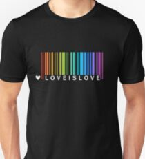 Love is Love - LGBT Pride t-shirt Unisex T-Shirt