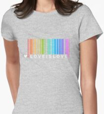 Love is Love - LGBT Pride t-shirt Womens Fitted T-Shirt