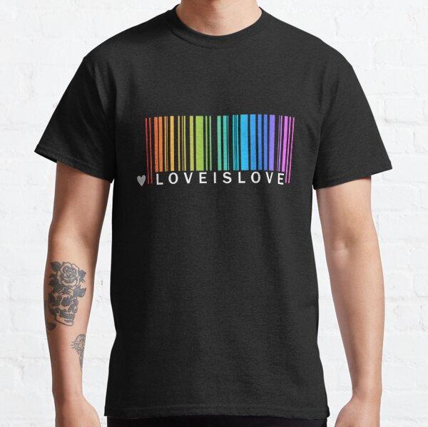 Love is Love - LGBT Pride t-shirt Classic T-Shirt