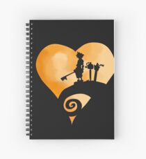 Kingdom hearts Spiral Notebook