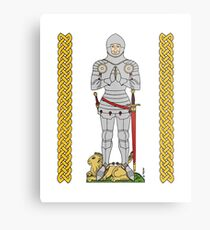 English Knight Circa 1430 Metal Print