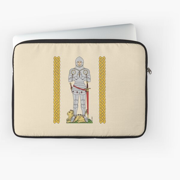 English Knight Circa 1430 Laptop Sleeve