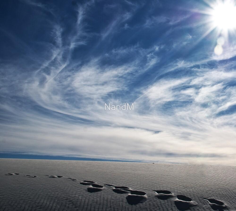 White Sands by NandM