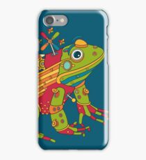 Frog, from the AlphaPod collection iPhone Case/Skin