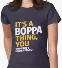 Boppa Thing Womens Fitted T-Shirt