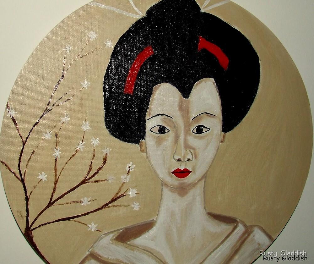 Kabuki Girl by Rusty  Gladdish