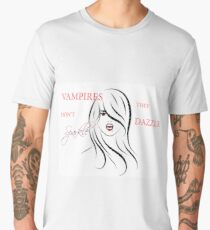 Vampires Don't Sparkle, They Dazzle Men's Premium T-Shirt