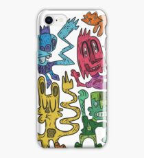 Party on man iPhone Case/Skin