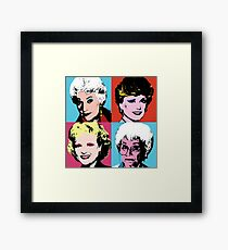Warhol Girls Framed Print