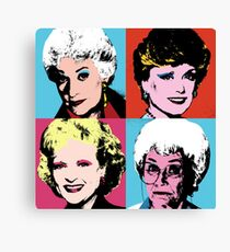 Warhol Girls Canvas Print