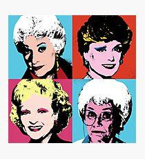 Warhol Girls Photographic Print