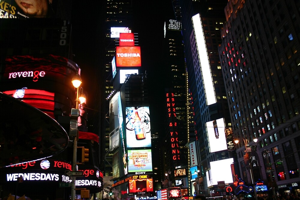 Times Square by banncrawford