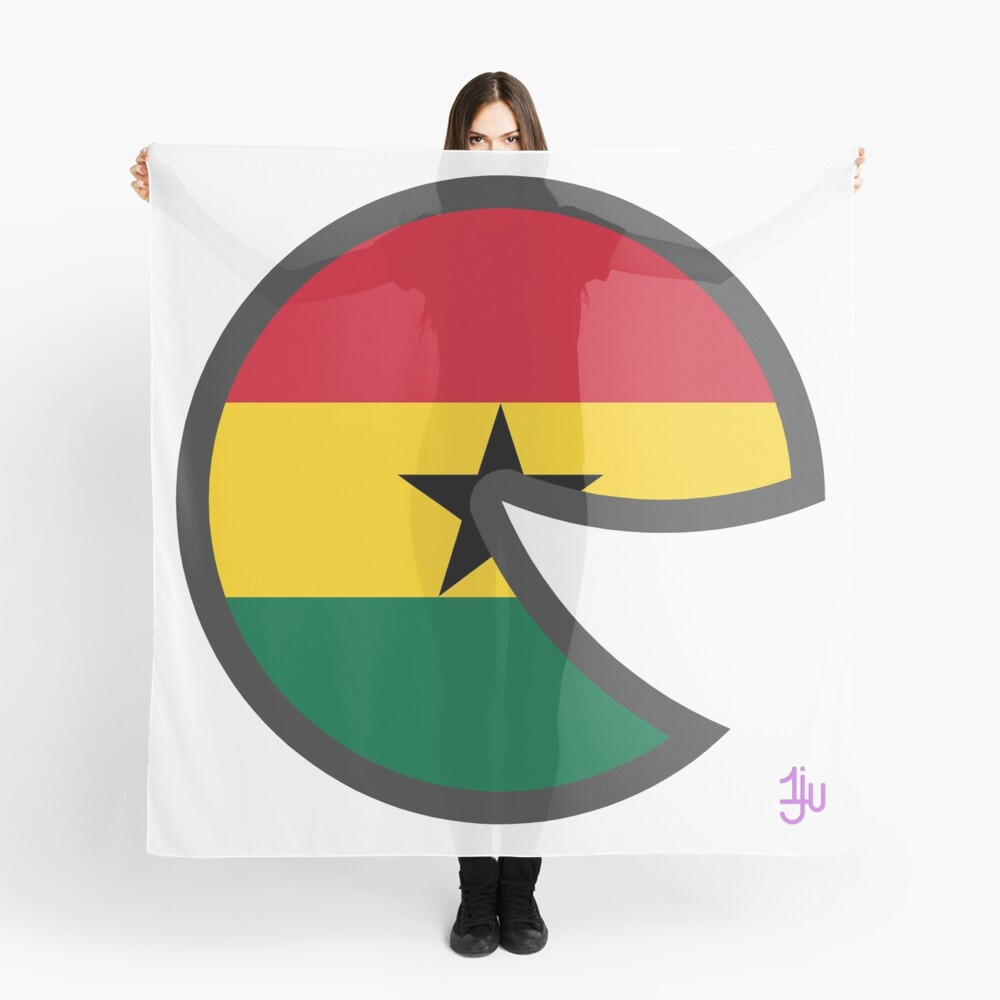 Ghana Smile Scarf Front