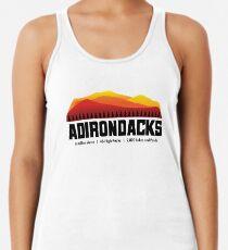 Camiseta de tirantes para mujer Montañas Adirondack - Nueva York
