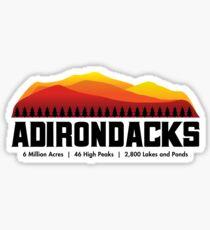 Adirondack Mountains - New York Sticker