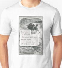 A two-horse, open sleigh! T-Shirt