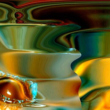 spirals & the water drop by yesdigiterarte