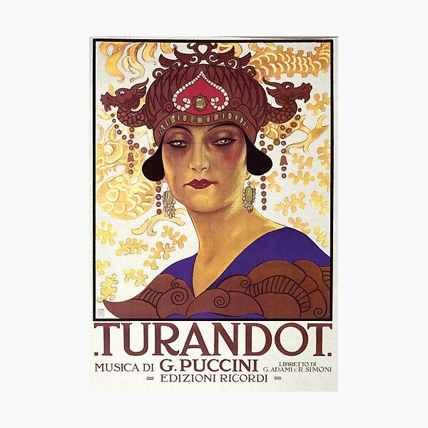 Turandot Vintage Photographic Print