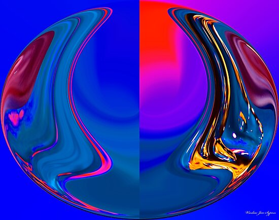 abstract 003 by Wieslaw Jan Syposz