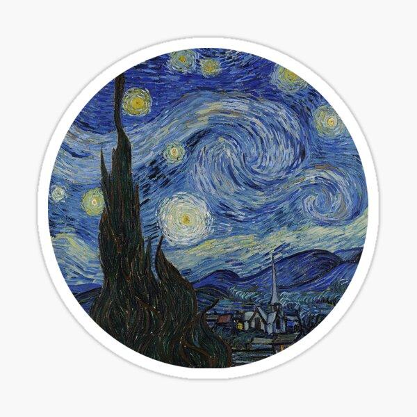 starry night Sticker