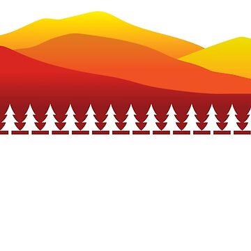 Montañas Adirondack - Nueva York - Tipo blanco de ryewilcox