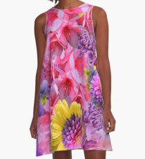 SPRING AND SUMMER A-Line Dress