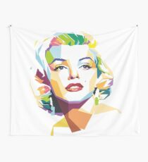 abstract marilyn monroe Wall Tapestry