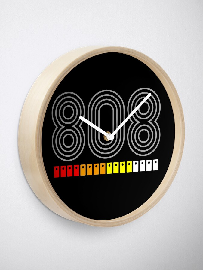 Alternate view of 808  Clock