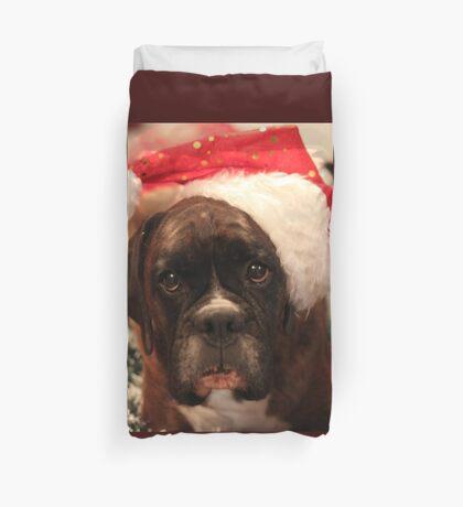 Die Grüße der Jahreszeit - Boxer Dogs Series Bettbezug
