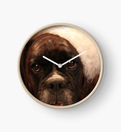 Die Grüße der Jahreszeit - Boxer Dogs Series Uhr