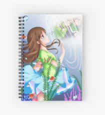 LOST: Drowning in memories Spiral Notebook