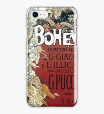 La Boheme Vintage iPhone Case/Skin