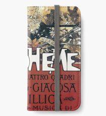 La Boheme Vintage iPhone Wallet/Case/Skin