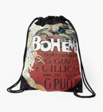 La Boheme Vintage Drawstring Bag