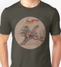 Squirrel in Shining Armor with trusted Bunny Steed  T-Shirt
