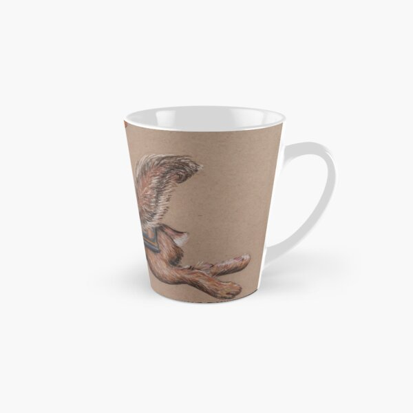 Squirrel in Shining Armor with trusted Bunny Steed  Tall Mug