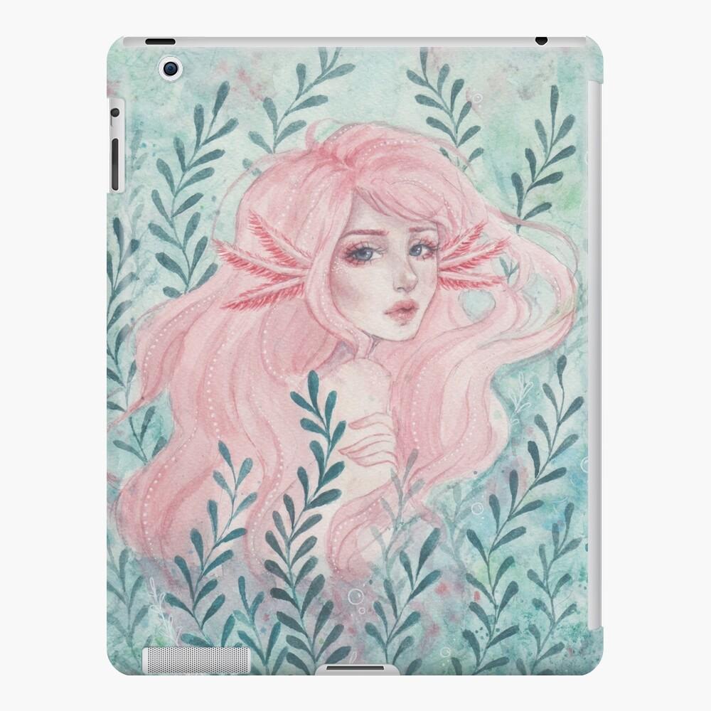 Axolotl-Mädchen iPad-Hülle & Skin