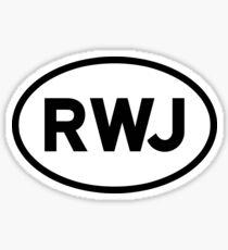 RWJ Sticker