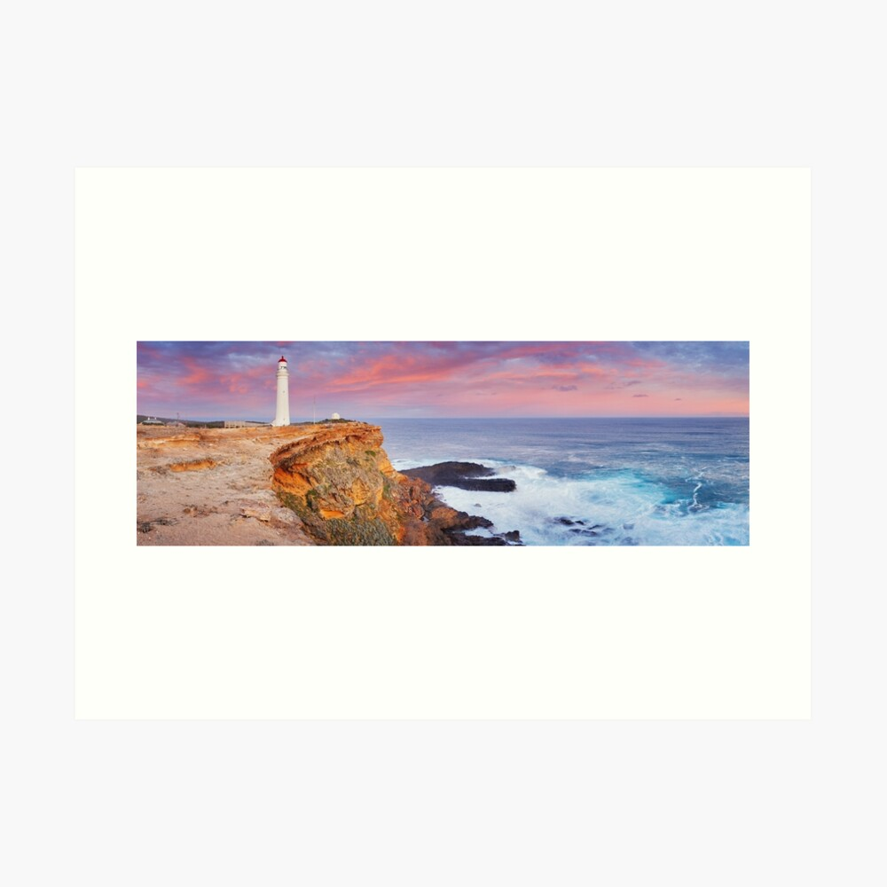 Cape Nelson Lighthouse, Portland, Victoria, Australia Art Print