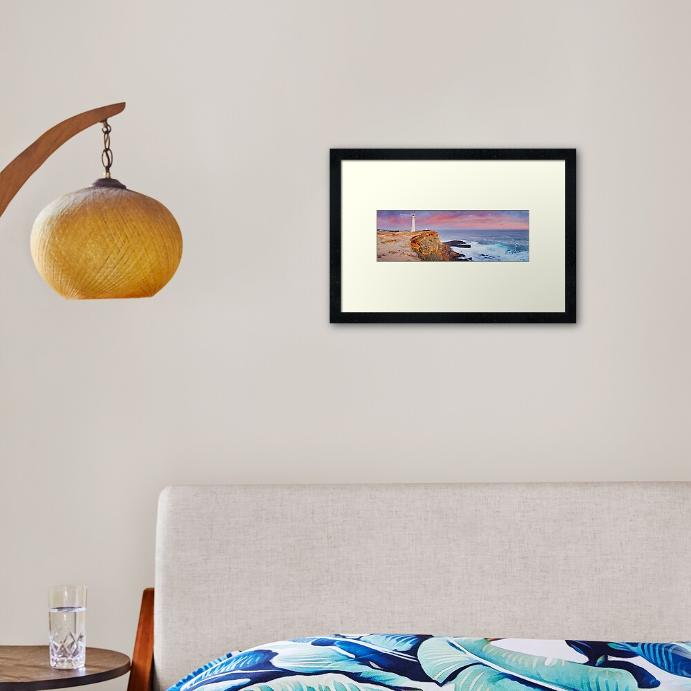 Cape Nelson Lighthouse, Portland, Victoria, Australia Framed Art Print